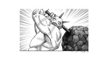 【キングダム】山の民の巨漢戦士タジフの性格や特徴を語り尽くす!